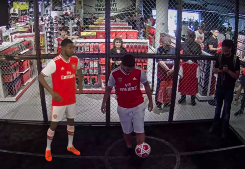 release date: f3fb2 93401 INDE partners with Arsenal FC for an in-store Augmented ...