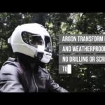 Whyre announces Argon Transform Augmented Reality HUD for motorcycle helmets