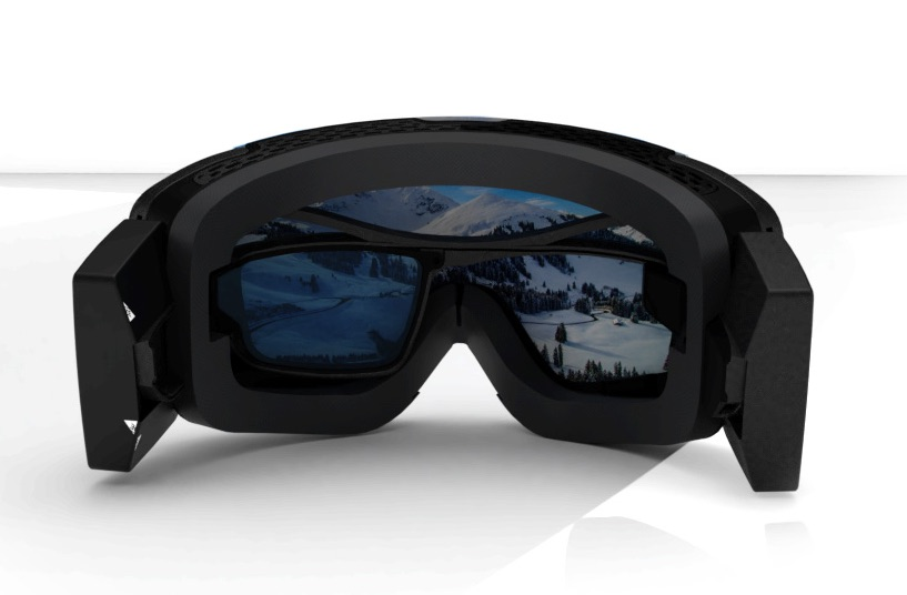 RideOn Vuzix Smart Ski Goggles