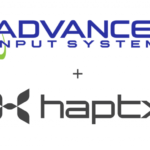 HaptX announces partnership with Advanced Input Systems, as well as USD $12 million in Series A funding