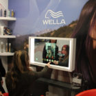 Wella Professionals demo Augmented Reality Smart Mirror for salons at CES 2020