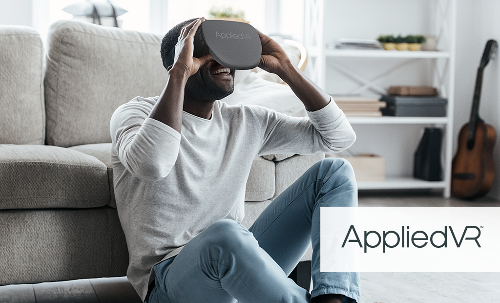 AppliedVR study highlights how Virtual Reality therapy is an effective tool  for treating chronic pain | Auganix.org