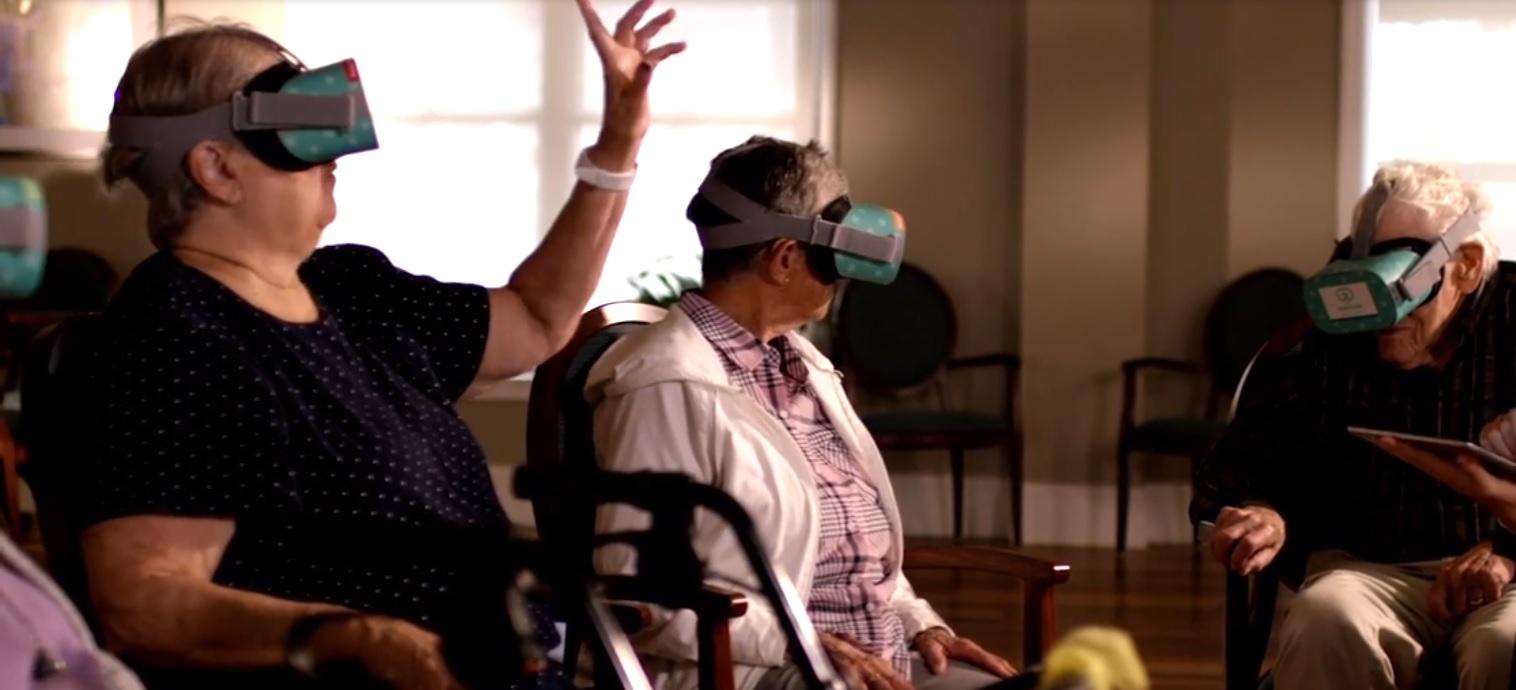 Rendever Senior Care VR