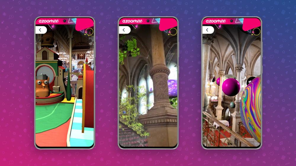 Azoomee AR App Screenshots
