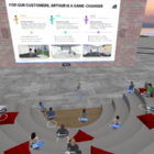 Arthur announces major updates to its collaborative Virtual Reality platform, including expanded room capacity of 50+ participants