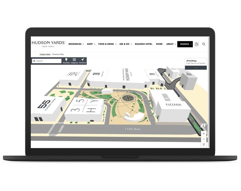 MappedIn 3D map