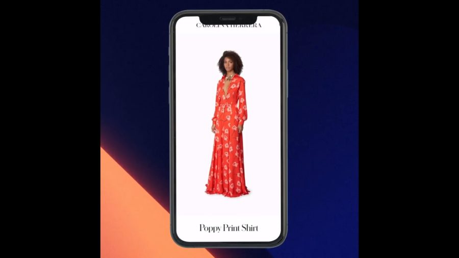 Fashion brand Carolina Herrera launches Augmented Reality e-commerce experience powered by 8thWall | Auganix.org