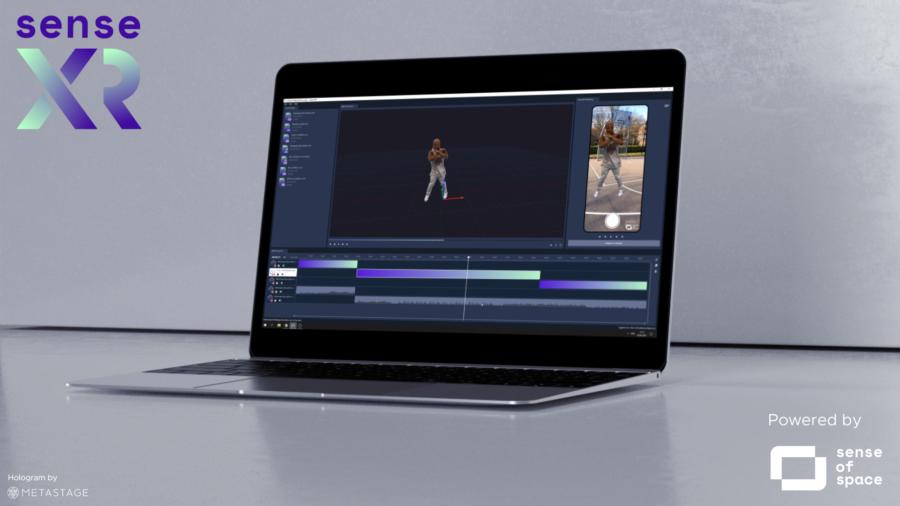- Sense XR editor - Sense of Space launches 'Sense XR' platform for WebAR Hologram publishing