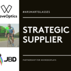 WaveOptics announces strategic MicroLED display supplier partnership with Jade Bird Display for AR smart glasses